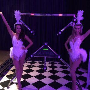 Hire showgirls