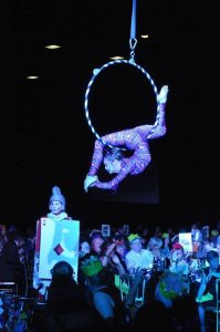 Hire aerial acts
