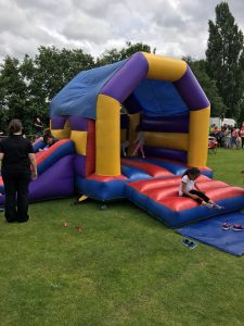 Hire Bouncy Castle with Slide