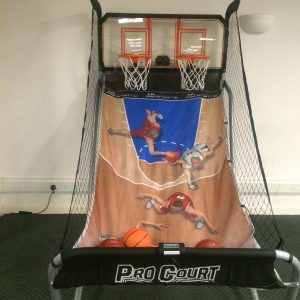 hire double basketball shot game