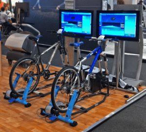 hire bicycle simulators