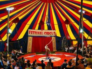 hire big top circus shows