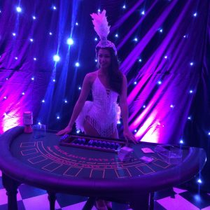 Hire Blackjack Table