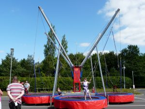 hire bungee trampolines