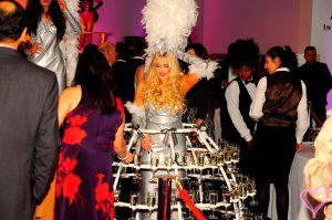 Hire Champagne Dress