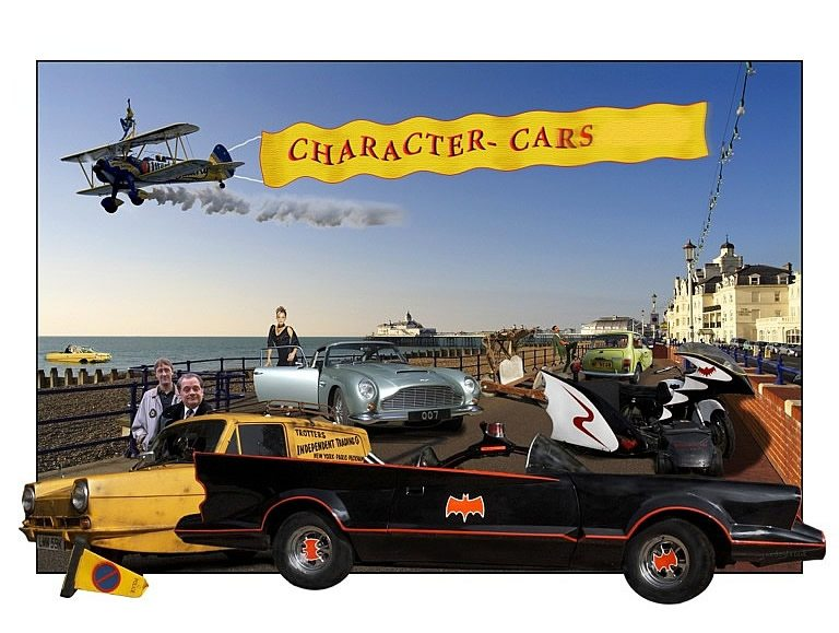 Hire Character Cars Hire Arena Displays Eventstar