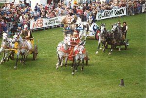 hire chariot displays