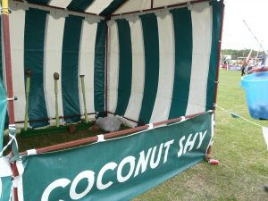 Hire Coconut Shy Side Stall