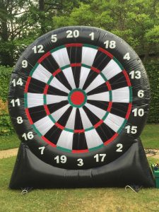 hire inflatable dartboard