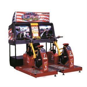 hire downhill bike racer arcade machine