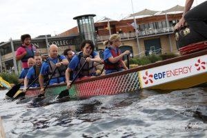 hire dragon boat racing