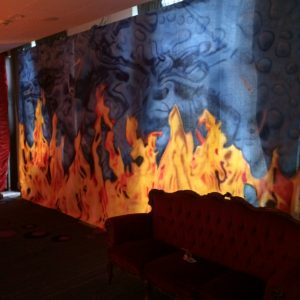 Hire Fire and Ice Theme Party