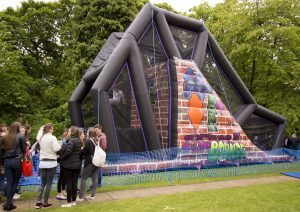 hire free fall slide