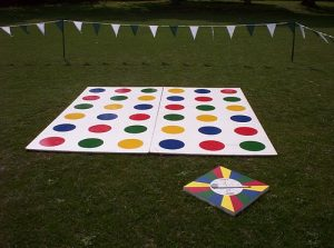 Hire Twister Game