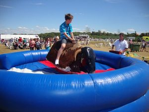 Hire Bucking Bronco