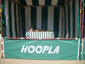 Hire Hoopla Side Stall