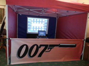 hire lasershot shooting simulator
