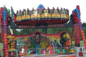 Hire Mega Spin Fairground Ride