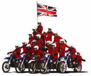 hire motorcycle display team