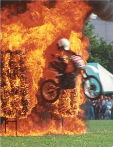 hire motorcycle display team