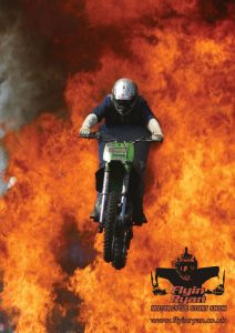 hire motorcycle stunt shows