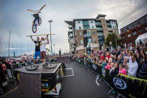 hire mountain bike stunt team