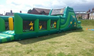 hire inflatable obstacle course