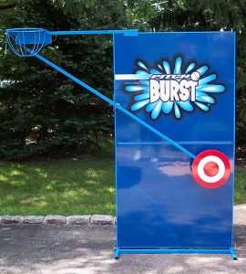 hire pitchburst water game