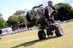 hire quad bike stunt show