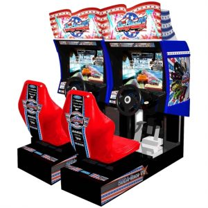 hire sega race tv arcade machine