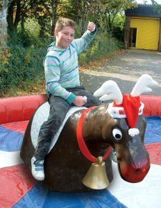 Hire rodeo reindeer
