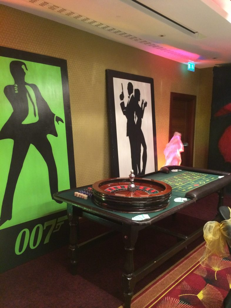 Hire Secret Agent Theme Party