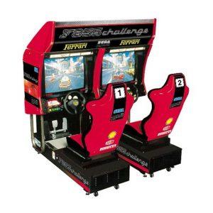 hire sega ferrari 355 driving simulator