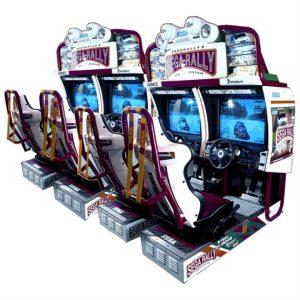 hire sega rally driving simulator