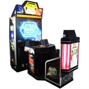 hire star wars trilogy arcade machine
