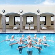 hire synchronised swimming display