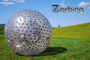hire zorb balls